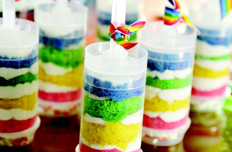 cake shooters