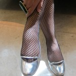 My Shoes Of The Day Is Silver