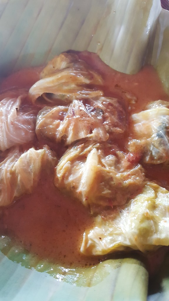 Lake Sebu's cabbage wrapped tilapia