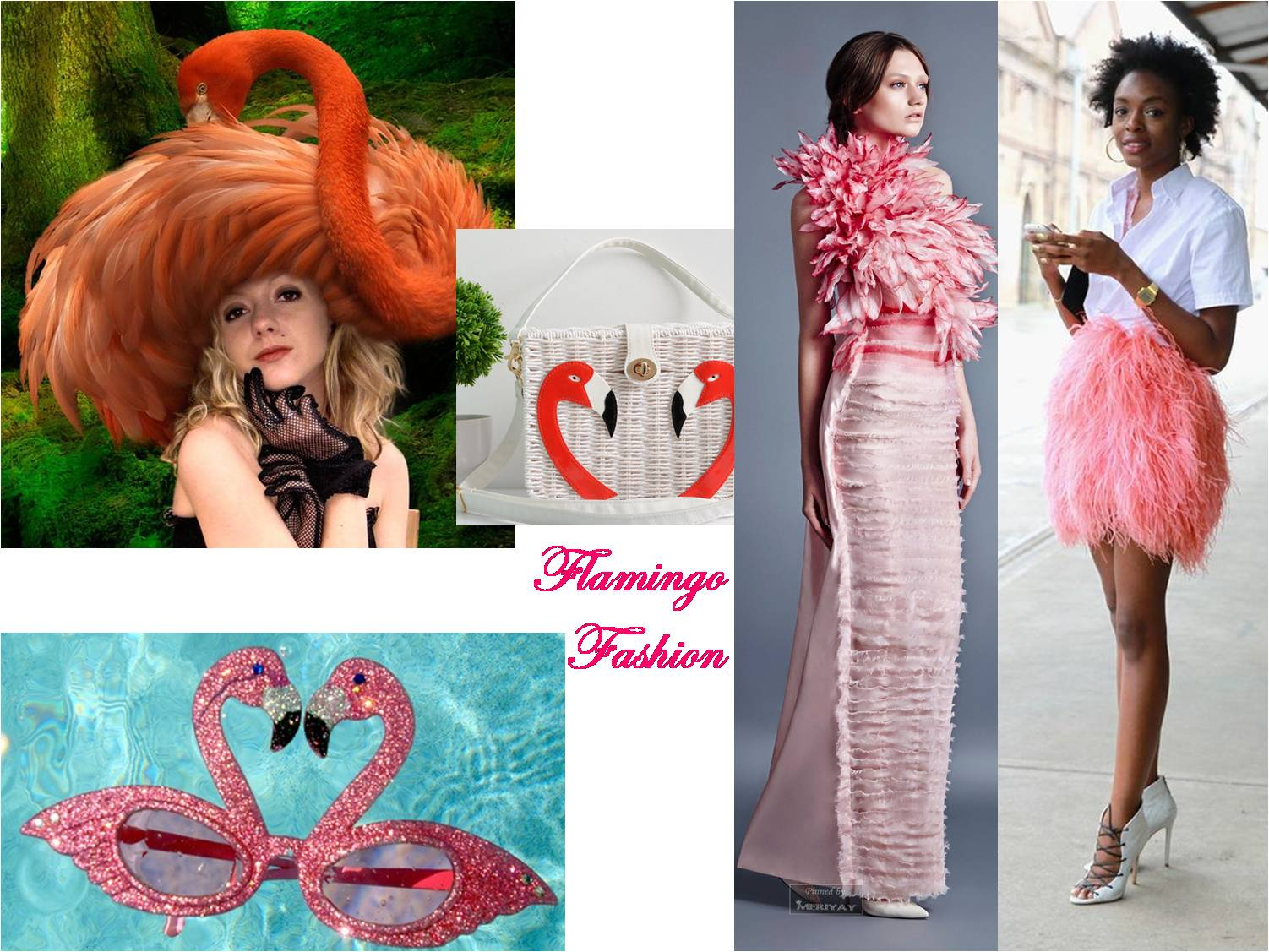 Flamingo for Merry Month of March